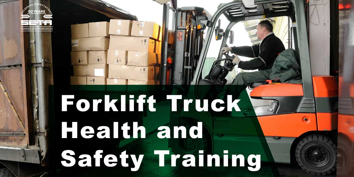Forklift Truck Health And Safety Training In Company Seta