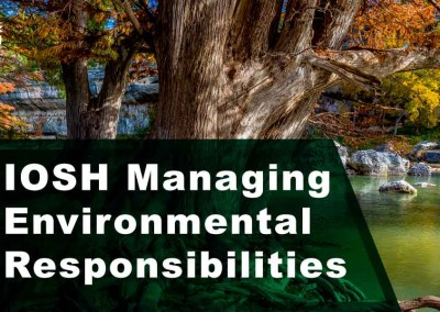 Managing Environmental Responsibilities