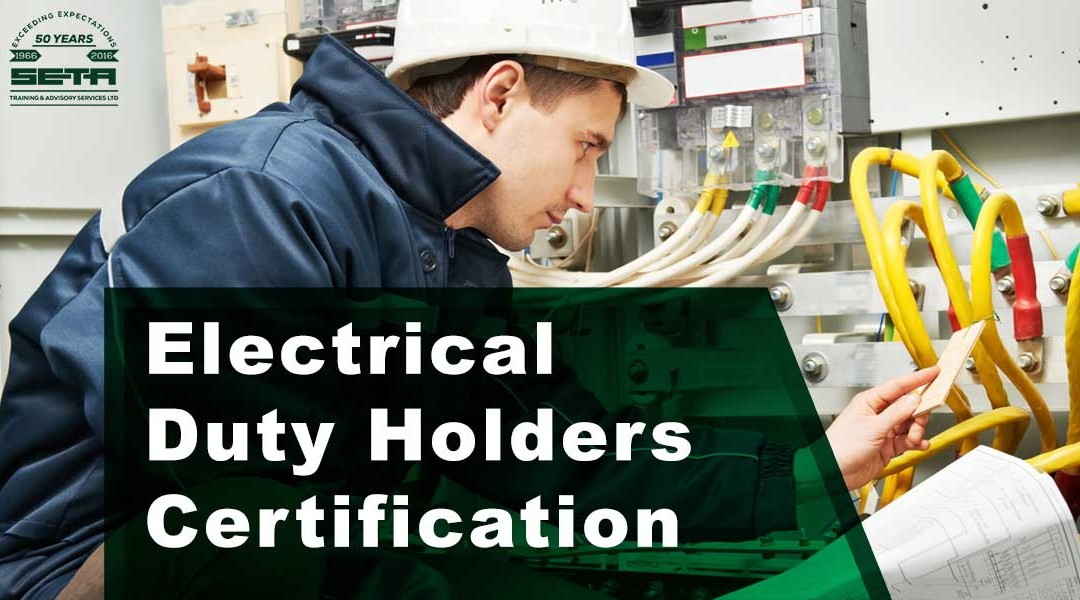 Electrical Duty Holders Certification
