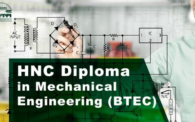 New for 2016! BTEC HNC Diploma in Mechanical or Electrical Engineering