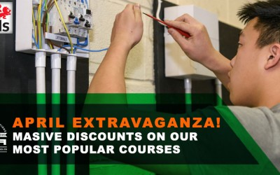April Extravaganza! Massive discounts on our most popular courses!