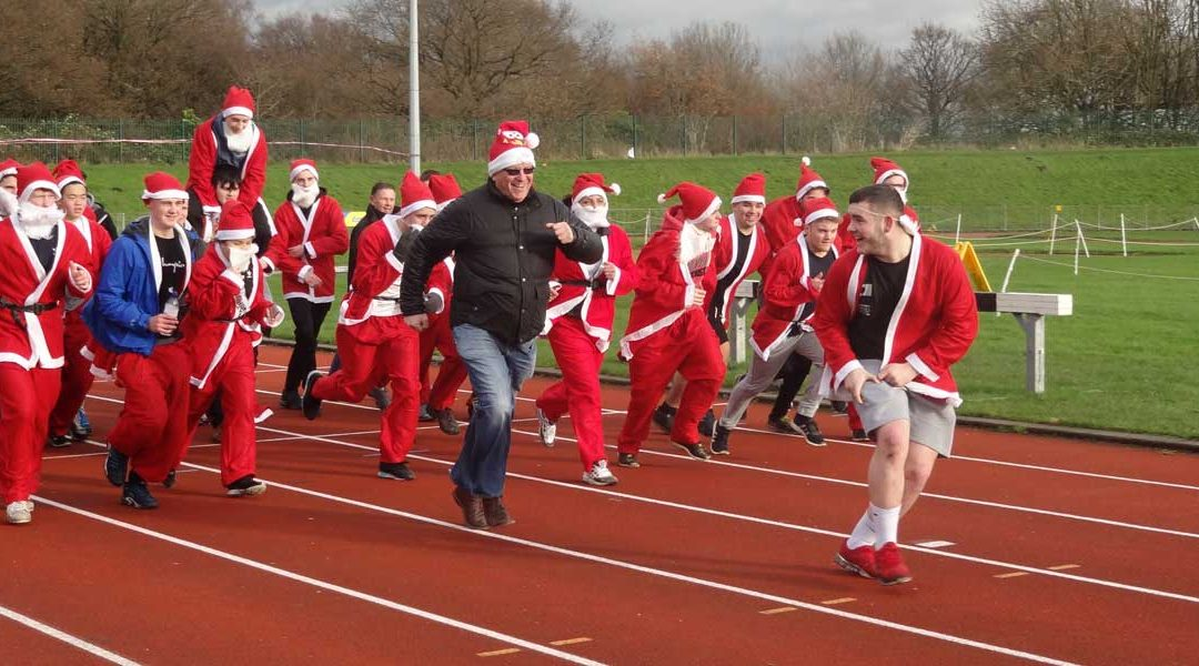 SETA's Annual SANTA DASH in Stockport this Friday!