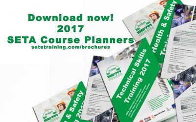 New SETA Stockport 2017 Course Schedule Announced!