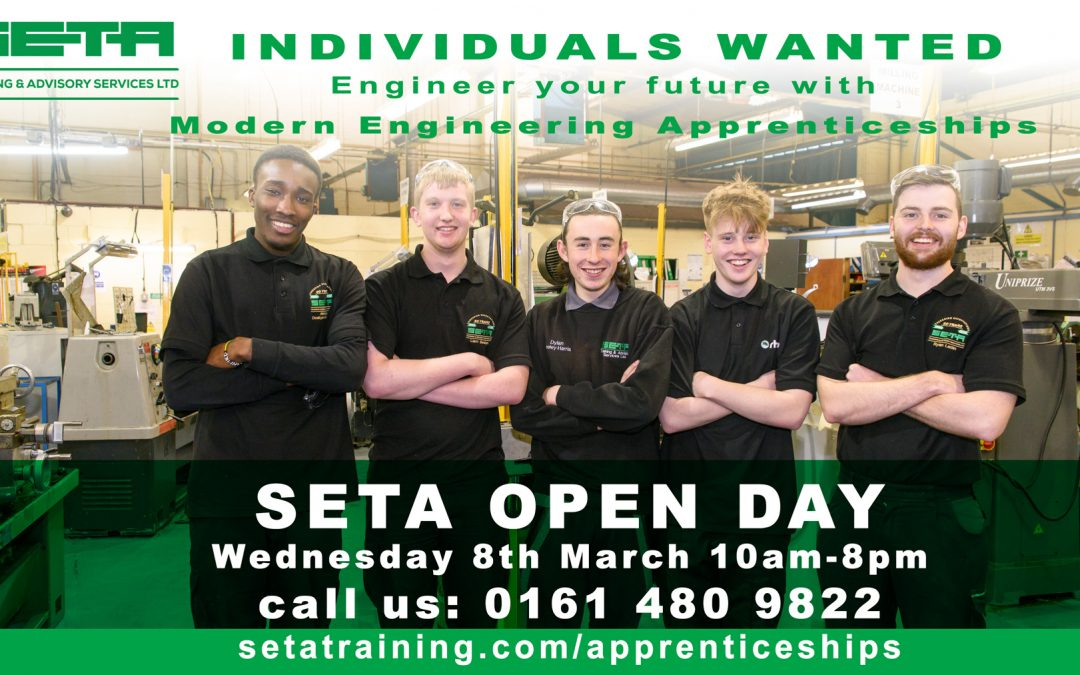 The SETA Stockport OPEN DAY Date Announced!