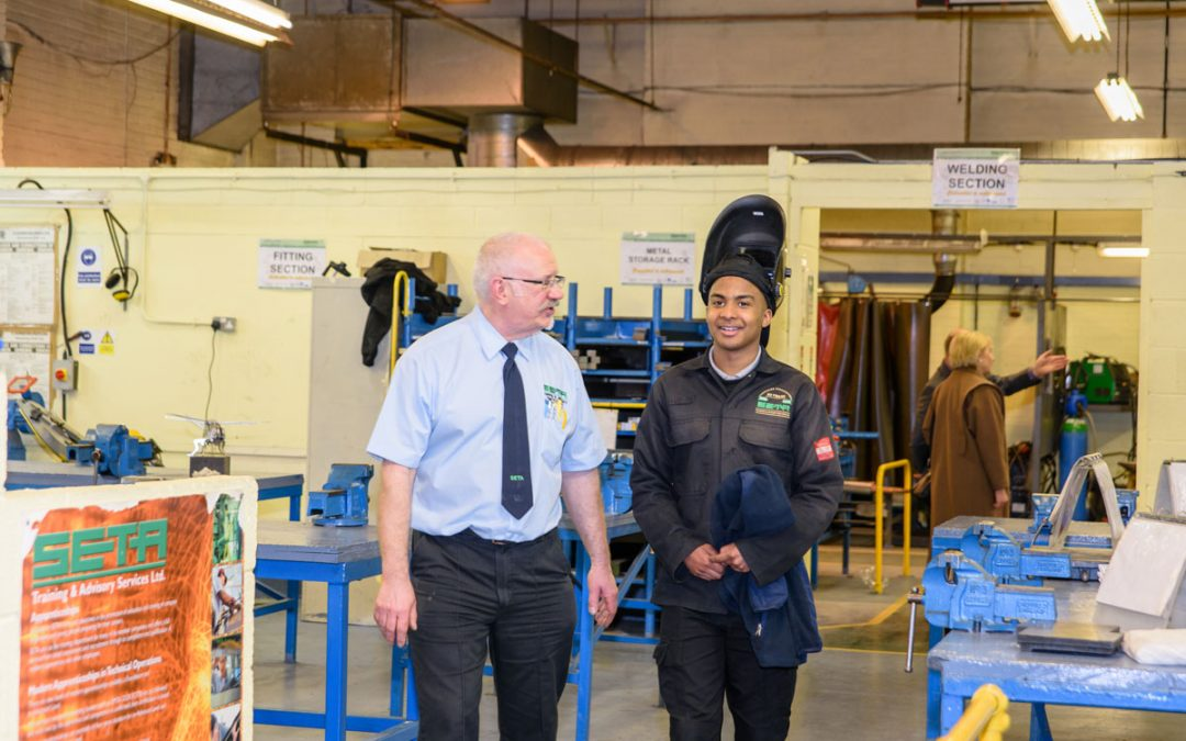 SETA continues to promote Engineering Apprenticeships at schools across the Greater Manchester area.