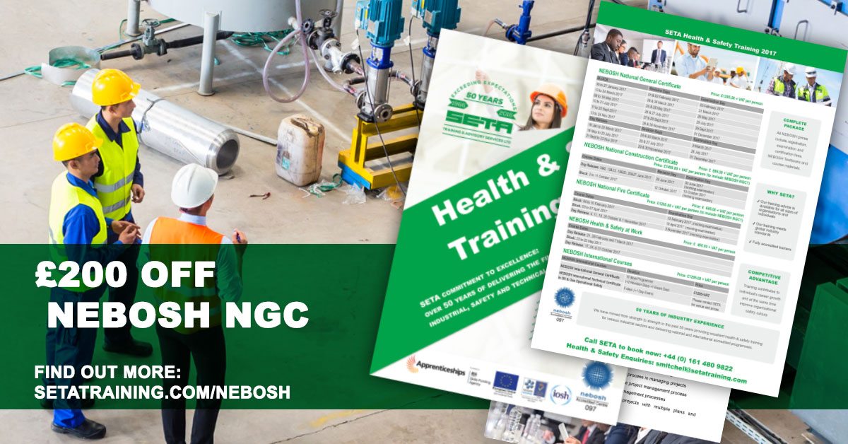 SAVE GBP200 On NEBOSH NGC