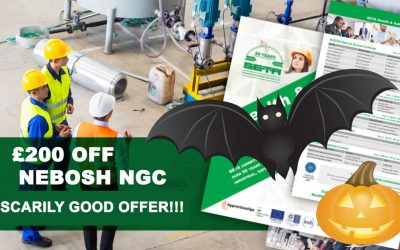 Are you petrified of NEBOSH prices? Save £200!!!