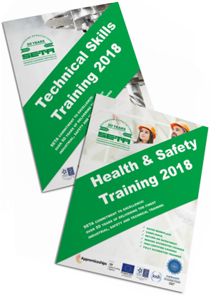 SETA Training brochure 2018 Stockport Manchester