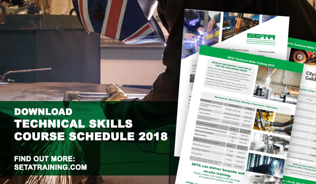 Download new 2018 Technical Skills brochure and create dynamic, multi skilled workforce