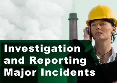 Investigation and Reporting Major Incidents