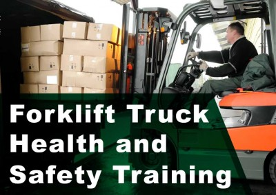 Forklift Truck Health and Safety Training  (in-company)