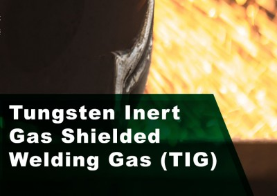 Tungsten Inert Gas Shielded Welding Gas (TIG)