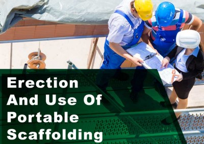 Erection And Use of Portable Scaffolding