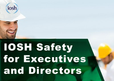 IOSH Safety for Executives and Directors