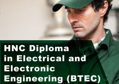 HNC Diploma in Electrical and Electronic Engineering (BTEC)