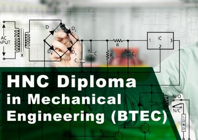 HNC and HND Diploma in Mechanical Engineering (BTEC)