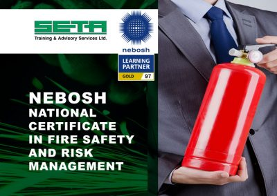 NEBOSH National Certificate in Fire Safety and Risk Management