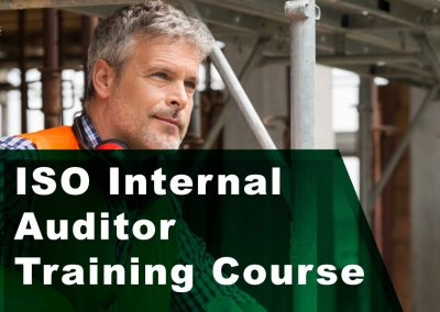 ISO Internal Auditor Course