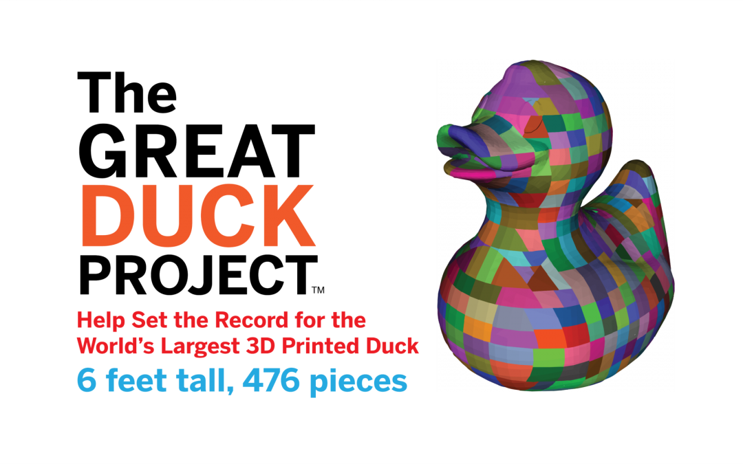 SETA goes 'Quackers' for 3D Printing