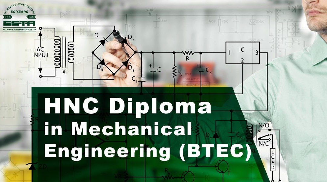 BTEC HNC Certificate in Mechanical or Electrical Engineering 2019 edition