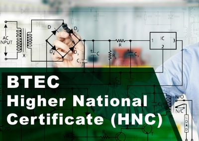 BTEC Higher National Certificate (HNC) in General Engineering