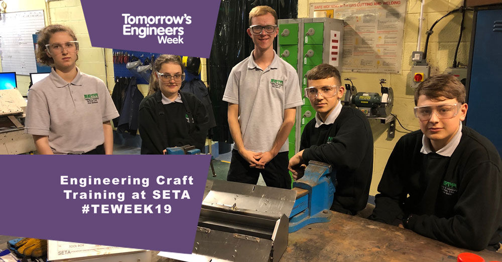 SETA supports Tomorrow's Engineers Week 4TH -8TH November