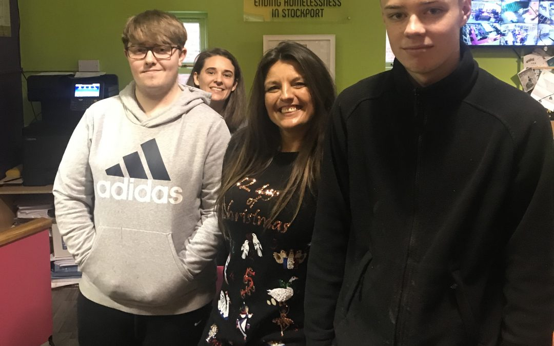 SETA Apprentices Spring into action for Stockport's Homeless Community