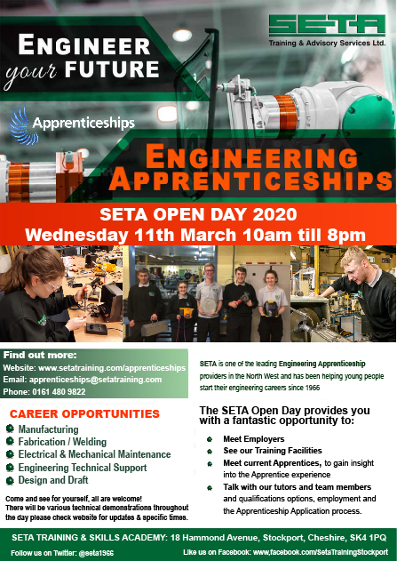 SETA Open Day 2020